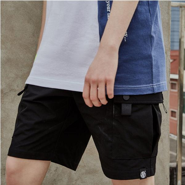 多袋輕便短褲 STAGE CARGO EASY SHORTS 黑色/軍綠 兩色