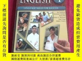 二手書博民逛書店Excellent罕見English Student Book- Language Skills For Succ
