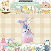 ( 現貨 & 樂園實拍 ) 東京迪士尼限定 達菲家族 史黛拉兔 Lets Play Hide and Seek 珠鍊手機玩偶吊飾