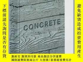 二手書博民逛書店混凝土罕見英文原版 Concrete (Mini Format) William HallY335736 Wi