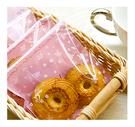 幸福朵朵【自黏OPP包裝袋(禮物包裝.烘焙點心包裝)-C.粉底花園兔子款x10枚】西點糖果餅乾