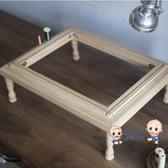 繡花架 刺繡桌面繡架 繡繃 法式刺繡可翻轉繡架 桌面繡架外內框鬆木T