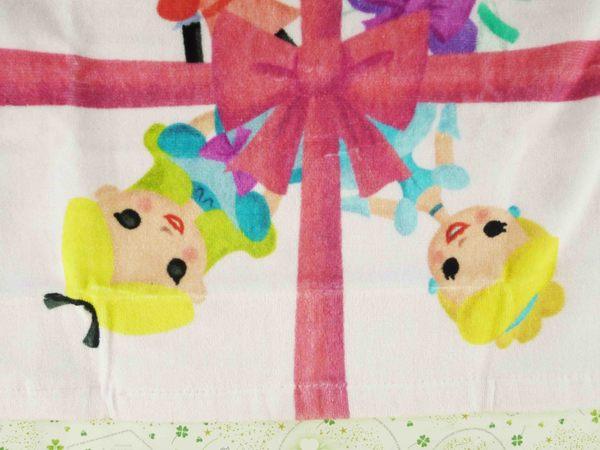 【震撼精品百貨】Micky Mouse_米奇/米妮 ~毛巾-粉公主
