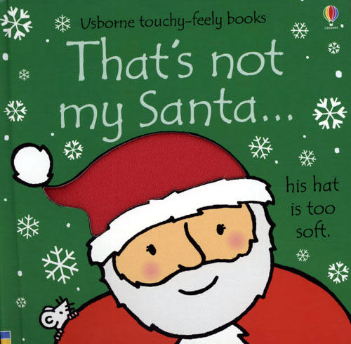 【麥克書店】THAT'S NOT MY SANTA /硬頁書《聖誕節》
