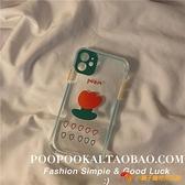 韓版郁金香蘋果11手機殼promax創意iphone7/se/xr/8plus女夜市量販【小獅子】