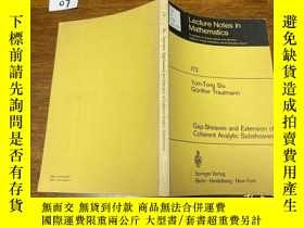 二手書博民逛書店Gap-Sheaves罕見and Extension of Coherent Analytic Subsheave