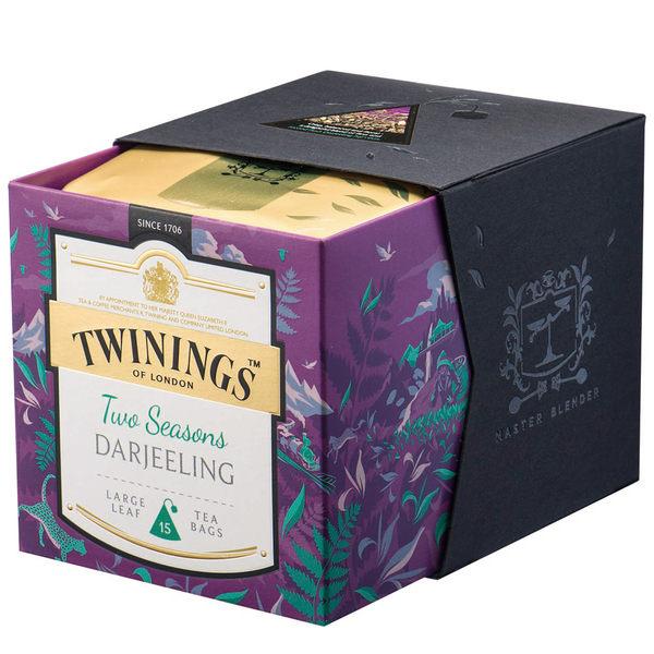 唐寧茶【Twinings】鉑金系列 大吉嶺莊園雙芬茶(2.5gx15入茶包)