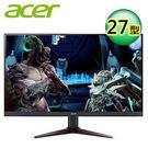 【acer 宏碁】VG270K 27型 IPS 無邊框電競寬螢幕 【贈收納購物袋】