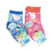 【KP】佩佩豬兒童襪 直版襪 卡通襪 襪子 短襪 粉紅豬小妹 9-11cm DTT0522137