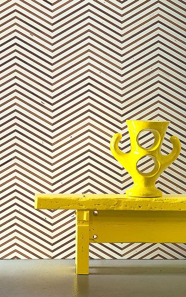人字形 木紋 NLXL新作  工業風 loft風  TIMBER STRIPS WALLPAPER by PIET HEIN EEK / TIM-04