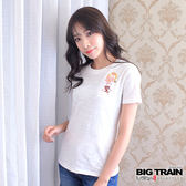 BIG TRAIN  燃夏和服小熊女款-女-白色