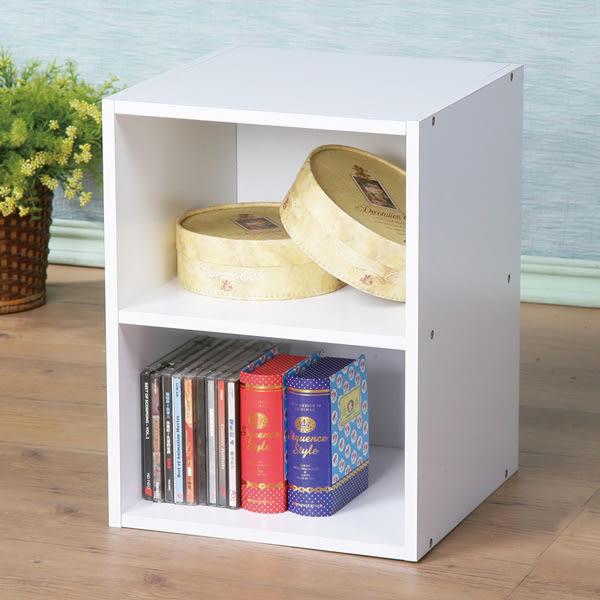 書櫃《YoStyle》現代風二格小空櫃 展示櫃 櫥櫃 收納櫃 組合櫃 書櫃 床邊櫃