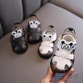 鞋男童嬰幼兒涼鞋0-1一歲2透氣包頭兒童沙灘鞋夏季軟底學步鞋 衣櫥秘密