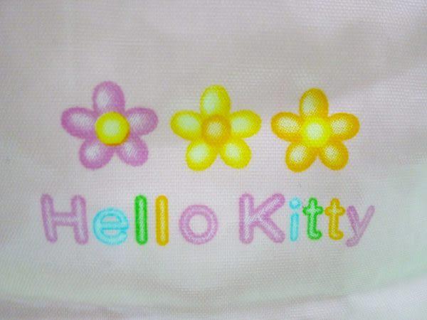 【震撼精品百貨】Hello Kitty 凱蒂貓~防水手提袋『粉底愛心小花』
