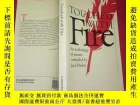 二手書博民逛書店Touched罕見with Fire: An Anthology