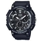 【CASIO】時光之輪精緻工藝腕錶-黑風(MCW-200H-1A)