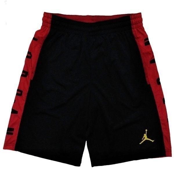 Nike Jordan Rise 男 紅 黑 短褲 籃球褲 排汗 快乾 運動褲 喬丹 慢跑 訓練 健身 快乾 舒適 888377011