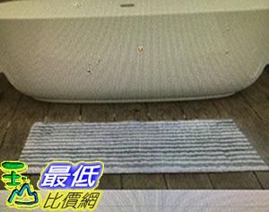 [COSCO代購] Grandeur 超細纖維地墊二入組 45x60公分 灰/藍/米 _W998088