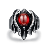 鈦鋼戒指-獨特霸氣個性復古生日情人節禮物男飾品73le219【時尚巴黎】
