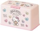 【凱蒂貓 口罩收納盒】凱蒂貓 口罩收納盒 收納箱 收納60片 日本正品 該該貝比日本精品