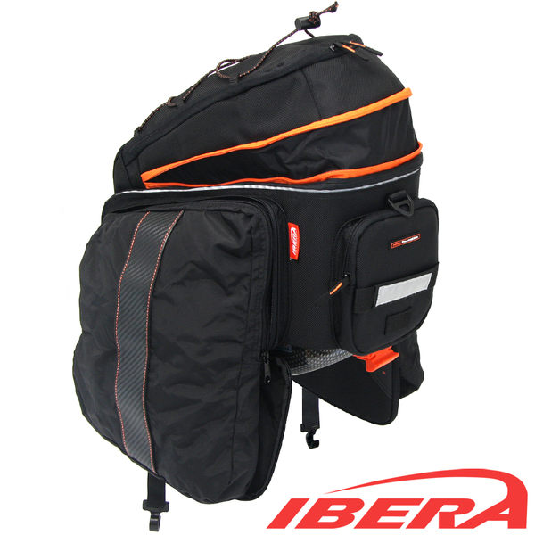 IBERA PakRak 自行車 長途旅行 馬鞍袋