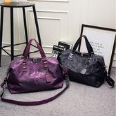 旅行包女手提大容量旅游包單肩韓版短途行李袋潮【3C玩家】