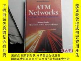 二手書博民逛書店atm罕見networks concepts protocols