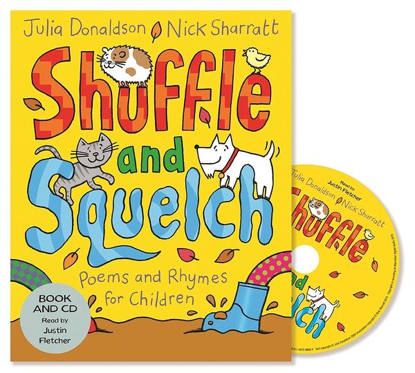 Shuffle And Squelch 蹦蹦跳跳 平裝繪本CD書