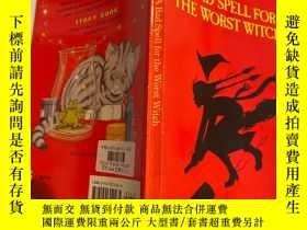 二手書博民逛書店a罕見bad spell for the worst witch 對最壞的巫婆來說是個壞兆頭Y200392