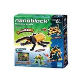【日本KAWADA河田】NanoblockPLUS積木-長戟大兜蟲 PBH-008