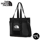 【The North Face 17L 手提包《黑》】3KZU/多功能休閒包/托特包/購物提袋/側肩包