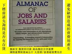 二手書博民逛書店罕見~ 外文書 The American Almanac of Jobs and SalariesY20521