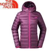 【The North Face 女款 700fp雙面羽絨外套《紫》】35CMUAY/防潑水/可收納★滿額送