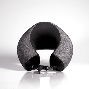 UNO™ 舒適涼感頸枕 Rough款 礦石黑