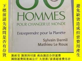 二手書博民逛書店80罕見Hommes Pour Changer Le Monde 法文法語原版書Y385290 Sylvain