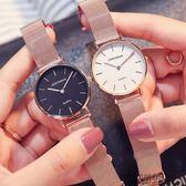店長推薦防水超薄手錶時尚簡約潮流新款休閒小錶盤女士石英錶【潮咖地帶】