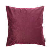 HOLA 素色星悅雙色抱枕60x60cm 酒紅色