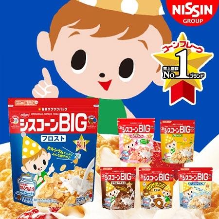 日本 NISSIN 日清 BIG 袋裝早餐玉米片 玉米脆片 玉米片 幼童麥片 營養麥片 麥片