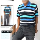 【大盤大】(C73131) 夏 吸濕排汗衫 涼感衣 台灣製 速乾 口袋POLO衫 戶外 運動衫【2XL號斷貨】