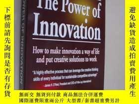 二手書博民逛書店THE罕見POWER OF INNOVATION:how to