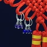 耳環 925純銀(耳針式)-小巧精美生日情人節禮物女飾品2色73ds69[時尚巴黎]