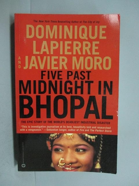 【書寶二手書T5/原文書_YEA】Five Past Midnight in Bhopal_Lapierre, Domi