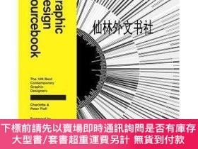 二手書博民逛書店【罕見】Graphic Design Sourcebook: The 100 Best Contemporary
