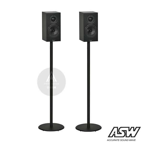 【二手福利品】德國 ASW OPUS M14 書架式喇叭/揚聲器 (黑色/白色)