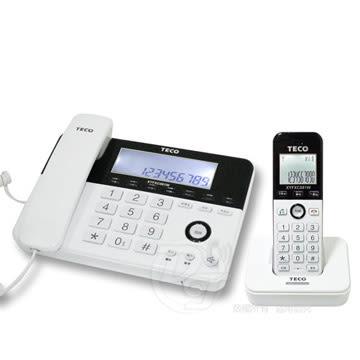 《一打就通》TECO 東元2.4GHz數位無線子母電話 XYFXC081W ~語音報號。4組速撥~