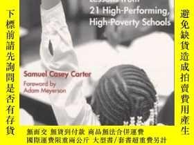 二手書博民逛書店No罕見Excuses : Lessons From 21 High-performing High-povert