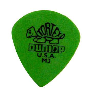 ★集樂城樂器★Dunlop Signature(Jazz)M3綠色小烏龜吉他彈片(36片裝)