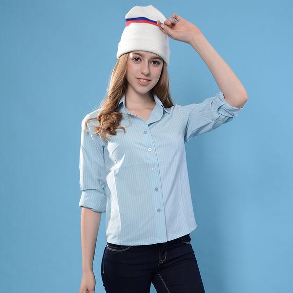 JORDON爬山專用 吸濕快乾防曬 透氣女長袖襯衫 2824