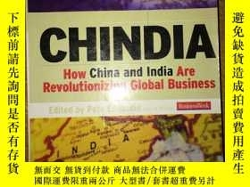 二手書博民逛書店S14罕見CHINDIA How China and India