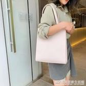 高級感大容量女大包包新款韓版百搭簡約單肩時尚手提包托特包